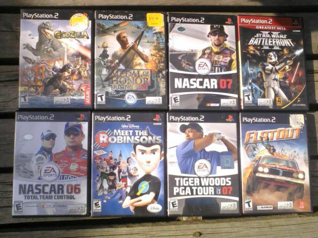 ps2 list of all games